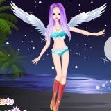 Одеваем ангелочка - игры для девочек одевалки ангелов