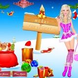 New Year - игры для девочек одевалки новогодние
