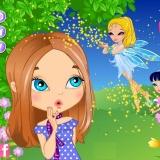 Три феи и девочка