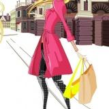 Мода - парижская девушка (переодевалка)