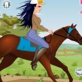 Одевалка девушке на лошади