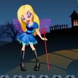 Флеш игра для девочек Хеллоуин