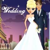 Одевалка невесты в Париже - игра для девочек
