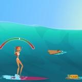 Серфинг - легкая аркадная флешка