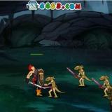 Игра для девочек - аркадная битва героя