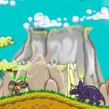 Игра для девочек про динозавров