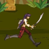 Экшн бегалка аркада с мечом