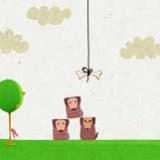 Собачки - за косточкой (логическая игра для девочек)